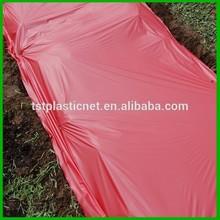 Red Plastic Mulch