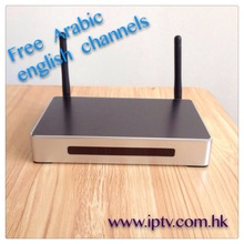 China Factory arabic free tv lifetime with all MBC channels set top box device warranty 12 monthes