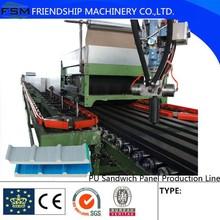 Economic/Cheap Continuous PU Sandwich Panel Production Line Two Metal Steel Sandwich layer Polyurethane