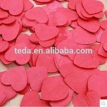 Teda love shaped paper confetti