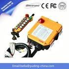 12V DC F24-10D industrial radio remote control for cranes