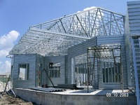China supplier prefabricated steel structure frame ;residential steel building