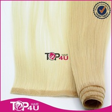 Alibaba new arrival wholesale 100% top quality cuticle virgin skin weft