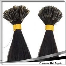 Pre-bonded hair extension U-tip straight hair single drawn best quality hair