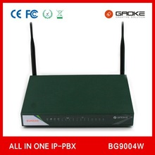 wifi pabx compatible with wifi IP phone best price for soho solution Gaoke BG9004W