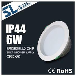 Waterproof IP 44 USA BRIDEGELUX chips 30w cob led downlight