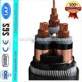 subterráneo Cable de acero / cable de tipo blindado de energía de cobre