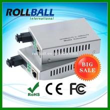 Good price 10/100M single fiber media converter wdm planet