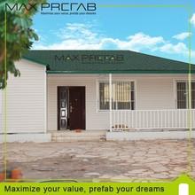 de alta calidad de fibra de vidrio prefabricadas casas y villas