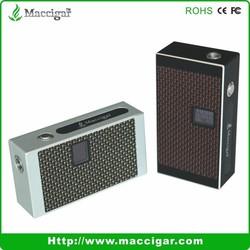Maccigar Mac-3 100W box mod dry herb vaporizer hookah pen