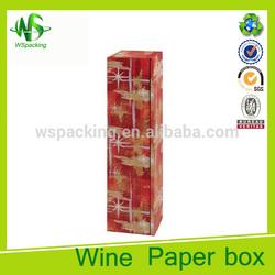 Wine bottle gift bag christmas wine bag for single bottle