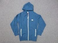 Stylish price high quality stylish slim cut Ladies 80% Cotton 20% Polyester brushed back sweatshirt with hood