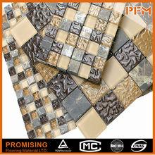 Best Selling High-End Handmade Customization Dust-Proof Mosaic Glass Damascus