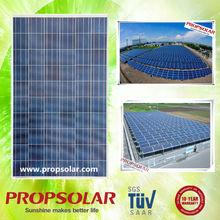 Propsolar pv solar panel 250W with CE,TUV,INMETRO certificates