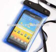 Black wheels smart phone cover waterproof phone bag