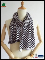 Newest hot selling wool knitted scarf wrap