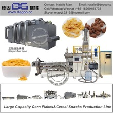 Breakfast Cereal Corn Flakes Manufacturing Machine