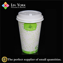 Cheap single wall paper cup for hot drinks