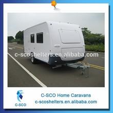 2015 hot sale fiberglass new travel trailers caravan
