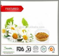 Bulk Supply Cosmetic Products Chamomile Flower P.E 4:1/Chamomile P.E Apigenin 98%HPLC