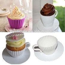 China Supplier food grade silicone wedding cake serving set