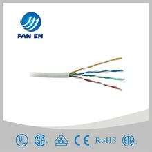 24AWG UTP Cat5e computer cable white PVC