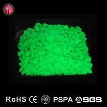 2015 Wholesale Best high bright glow in the dark pebble/photoluminescent luminous no-toxic pebble