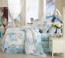 Tencel Bedding Set Series! silk rayon blend woven thick curtain fabrics
