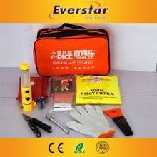 High Quality Warning Triangle Air Compressor Tool Box Drawer Slides Roadside Car Emergency Kitmetal Model Car Kits