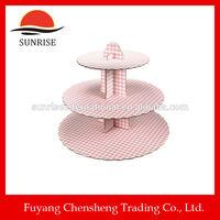 home baking lego minifigures tableware set cardboard cake stand