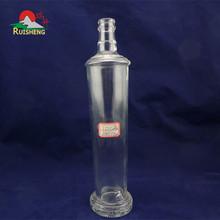 Customized high flint bacardi rum bottles