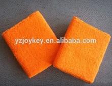 solid color cotton terry cloth plain sweatband