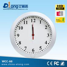 HD camera wall clock AVI video format video recorder