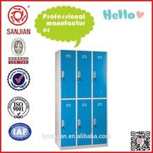 SJ-073 6 door steel bath room malaysia bedroom furniture
