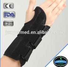 Orthopedic and sports custom wrist and palm velcro wrist wraps/ wrist support