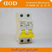 NF63a 2P NF mcb NF mini CIRCUIT BREAKER light indicating mini circuit breaker