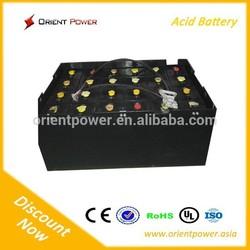 Rechargeable forklift battery 36v 15 VBS 1200 ah /36V 1200Ah for electric forklift