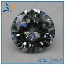 round white moissanite diamond