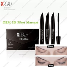New designed REAL+ 3d fiber lash mascara colorful choice top sellers on ebay