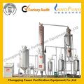 baja temperatura de la destilación de ahorro de energía utiliza el motor de reciclaje de aceite de la máquina