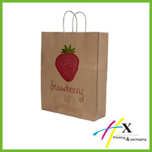Small Paper Shopping Bag Printed for Underwear