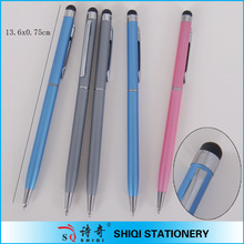 promotional shine metal business ball pen, office stationary