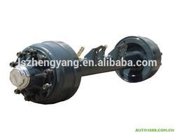 heavy duty trailer fuwa type axle for flat bed trailer