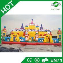 2015 Brand New Design inflatable fun city amusement park,commercial inflatable amusement park,fun city