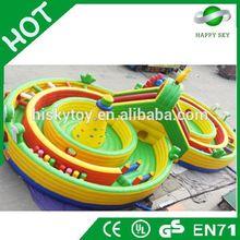 2015 Brand New Design inflatable fun city amusement park,funny inflatable amusement park,fun city