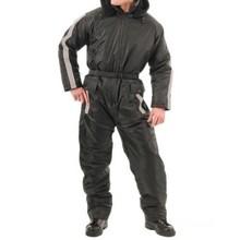 Factory active adult mini order black 1-piece Mens Snowsuit