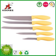 cheap price stainless steel colorful kitchen knife