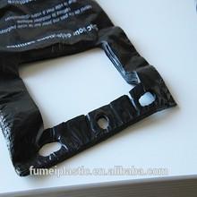 Black poop plastic dog bags