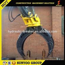 2015 excavator grabs excavator hydraulic grapple crane log grapple