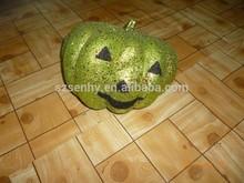 Halloween Green Artificial Pumpkins Decorating Ideas